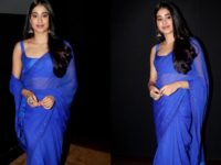 Janhvi Kapoor Draped In Georgette Saree Reminds Us Of Sridevi From Mr. India