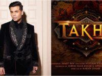 Karan Johar: Takht is the story of Dara Shikoh and Aurangzeb