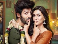 Luka Chhupi first poster out: Kartik Aaryan and Kriti Sanon's film's trailer to release tomorrow