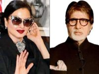 Watch video: Rekha's epic reaction on realising she is posing next to Amitabh Bachchan's photo