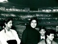 Amitabh Bachchan walks down the memory lane, shares photo with Sridevi, Salman Khan and Aamir Khan