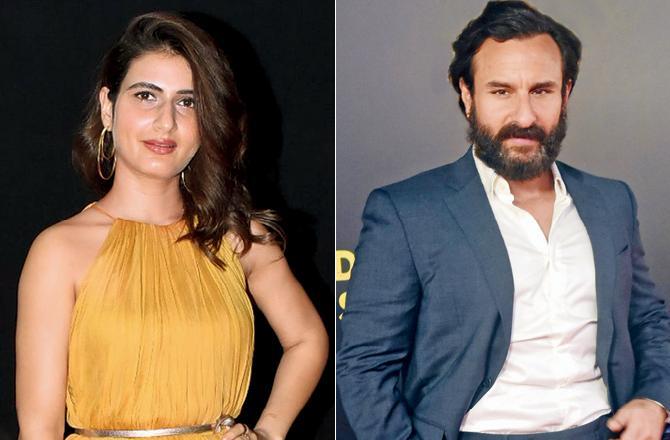 Fatima Sana Shaikh and Saif Ali Khan
