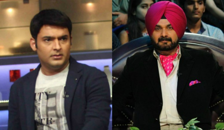 Kapil Sharma and Navjot Singh Sidhu