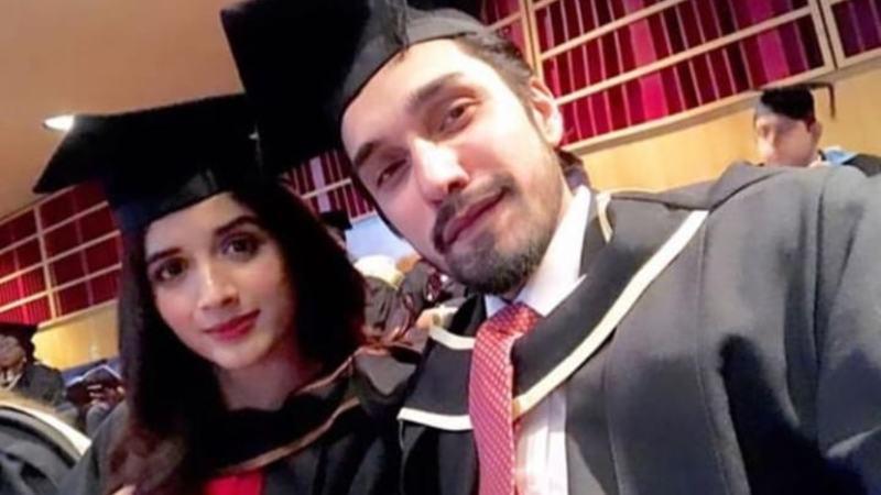 Mawra Hocane and Uzair Jaswal