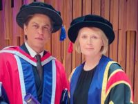 Shah Rukh Khan receives honorary doctorate from University of Law, London