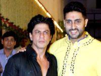 SRK's fun reply to Jr Bachchan's tweet leaves fans amused