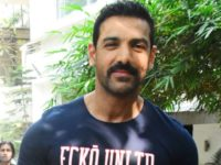 John Abraham meets with a freak accident on the sets of Pagalpanti in Mumbai