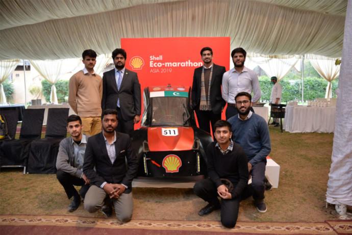 NUST Rawalpindi student team