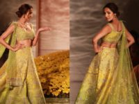Kriti Sanon Malaika Arora sashay on ramp at ICW 2019