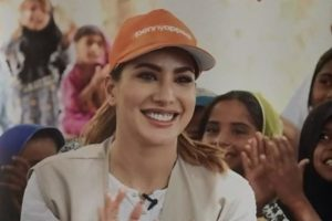 Mehwish Hayat joins charity to help rebuild five schools in Sukkur