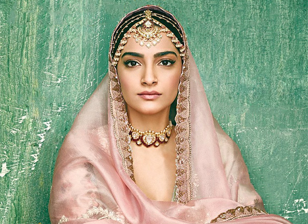 Sonam Kapoor Ahuja's look on the cover of Bridal