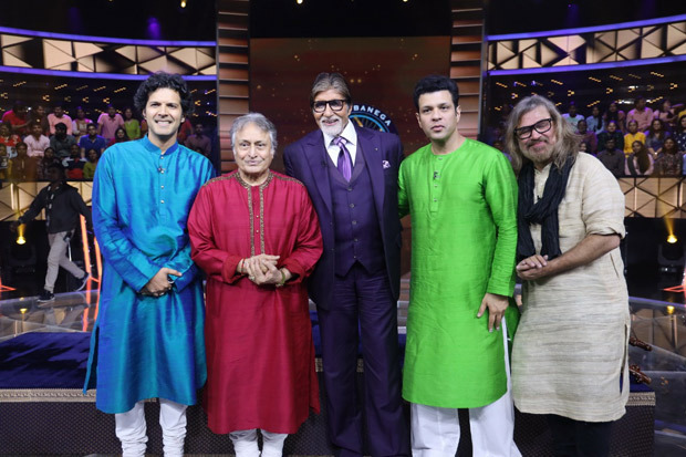 Amitabh Bachchan receives special surprise from Ustad Amjad Ali Khan