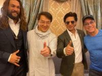 Shah Rukh Khan shares a frame with Jason Momoa Jackie