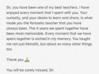 Aamir Khan's Marathi Teacher Passes Away, Actor Pens A Heartfelt Note