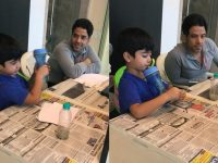Morning School For Son Laksshya Keeps Tusshar Kapoor Busy In Lockdown