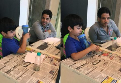 Morning School For Son Laksshya Keeps Tusshar Kapoor Busy In Lockdown