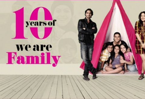Kajol Celebrates 10 Years Of We Are Family