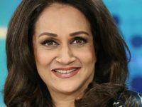 "Bushra Ansari is busy shooting for the drama serial ""Mahalat"""