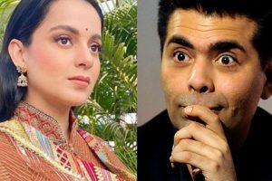 Kangana Ranaut once again criticized Karan Johar and his show