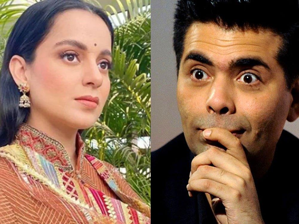 Karan Johar and Kangna