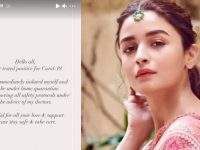 Alia Bhatt also suffers from corona