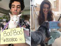 Shraddha Kapoor, Jim Sarbh raise awareness on the plight of stray animals